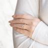 Помолвочное кольцо кушон плетеное, Изображение 6