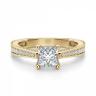 Кольцо с бриллиантом принцесса, Изображение 3