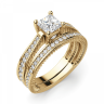 Кольцо с бриллиантом принцесса, Изображение 2