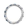 Кольцо дорожка с сапфирами и бриллиантами, Изображение 3