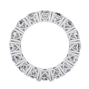 Кольцо дорожка по кругу с бриллиантами 5 карат - Фото 1