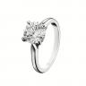 Классическое кольцо с 1 бриллиантом на помолвку, Изображение 3