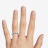 Кольцо дорожка с сапфирами маркиз и бриллиантами, Изображение 3