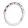 Кольцо дорожка с рубинами и бриллиантами, Изображение 2