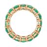 Кольцо дорожка с изумрудами 8 карат, Изображение 2