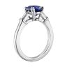 Кольцо с овальным сапфиром и бриллиантами, Изображение 2