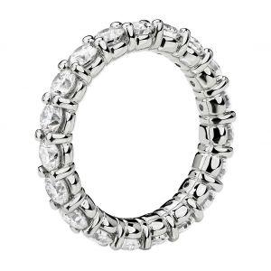 Кольцо дорожка с бриллиантами 3 кт по кругу