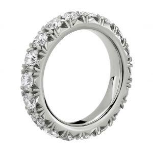Кольцо дорожка с бриллиантами 3 карата