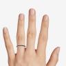 Кольцо дорожка с черными бриллиантами из золота, Изображение 3