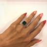 Кольцо с изумрудом 8 карат, Изображение 4