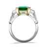Кольцо с изумрудом и бриллиантами, Изображение 2