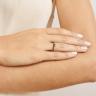 Кольцо с изумрудом и черными бриллиантами, Изображение 2