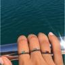 Кольцо с изумрудом и черными бриллиантами, Изображение 3