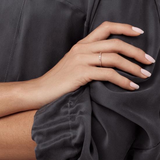 Стильное обручальное кольцо с бриллиантом,  Больше Изображение 2