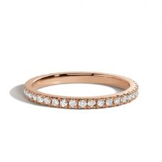 Кольцо дорожка с бриллиантами классика