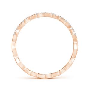 Дизайнерское кольцо дорожка с бриллиантами