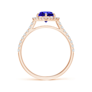 Кольцо с танзанитом и бриллиантами Miel