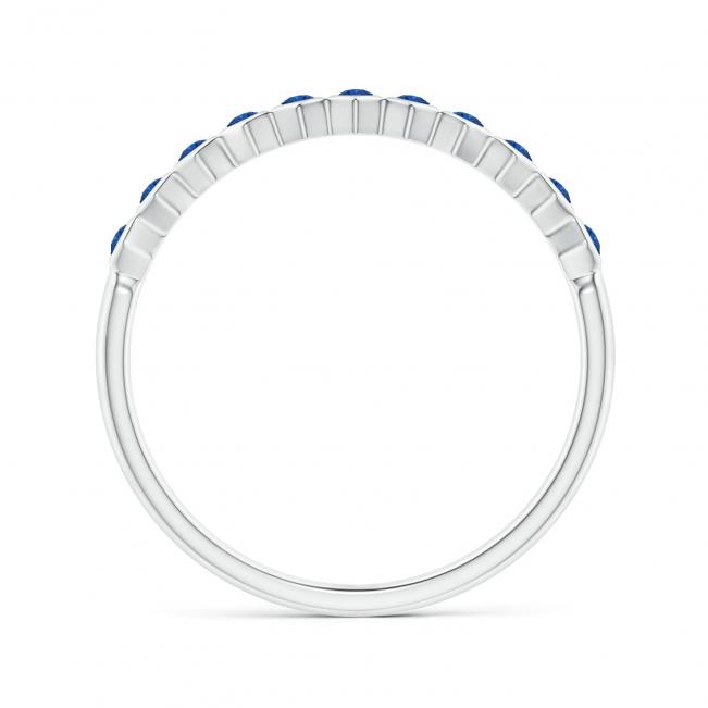 Кольцо дорожка с сапфирами Miel