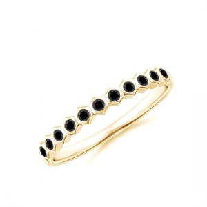 Дорожка с черными бриллиантами Miel