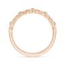 Кольцо дорожка Miel с цаворитами в розовом золоте, Изображение 2