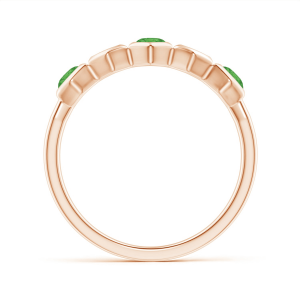 Кольцо дорожка Miel с цаворитом
