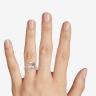 Кольцо с морганитом кушон в паве из бриллиантов, Изображение 3