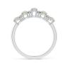 Кольцо дорожка с овальными опалами и бриллиантами, Изображение 2
