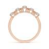 Кольцо дорожка с опалами и бриллиантами, Изображение 2