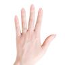 Кольцо с овальным опалом и боковыми бриллиантами, Изображение 3