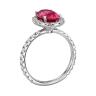 Кольцо с розовой шпинелью, Изображение 2