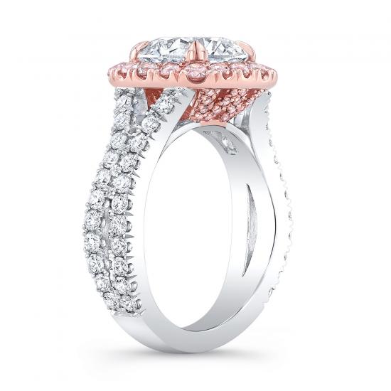 Кольцо с белым бриллиантом,  Больше Изображение 3