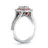 Кольцо с бриллиантом в двойном ореоле, Изображение 2