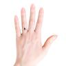 Кольцо с рубином Груша и бриллиантами, Изображение 3