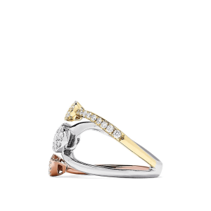 Кольцо три золота
