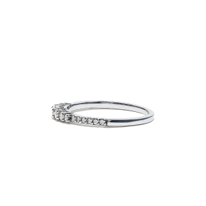 Кольцо дорожка с бриллиантами 0.31 кт