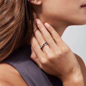 Кольцо с черным бриллиантом - Фото 4
