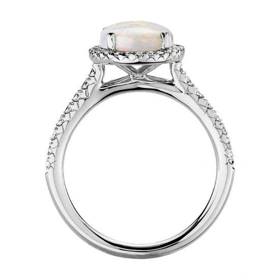 Кольцо с опалом,  Больше Изображение 2