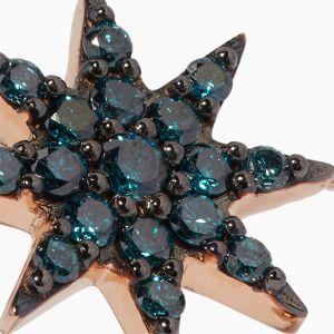 Кольцо с сапфирами Звезда - Фото 2