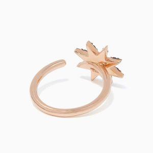 Кольцо с сапфирами Звезда - Фото 1