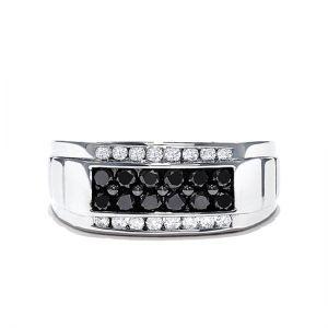 Мужское кольцо с бриллиантами