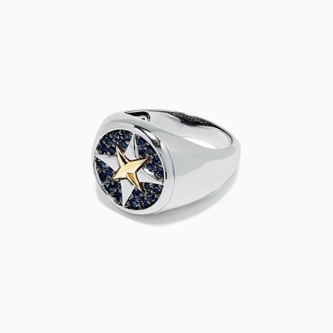 Муское кольцо Звезда - Фото 1