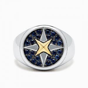 Муское кольцо Звезда
