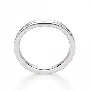 Изогнутое обручальное кольцо - Фото 1