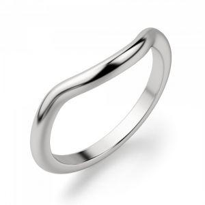 Обручальное кольцо с изгибом - Фото 1