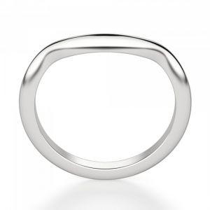 Обручальное кольцо с изгибом - Фото 2