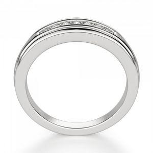 Обручальное кольцо с 7 бриллиантами - Фото 2