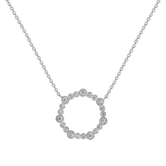 Колье с кругом из бриллиантов, Больше Изображение 1