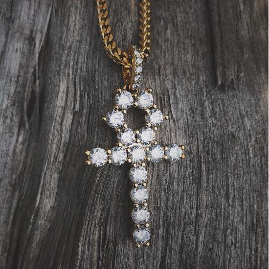 Египетский крест с бриллиантами,  Больше Изображение 4