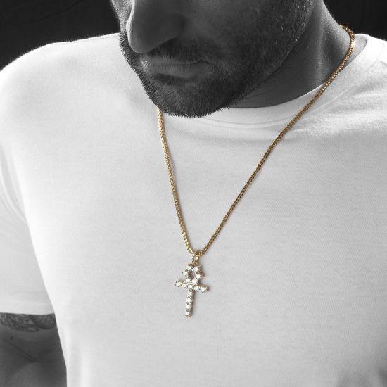 Египетский крест с бриллиантами,  Больше Изображение 3