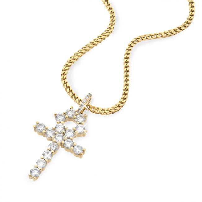 Египетский крест с бриллиантами